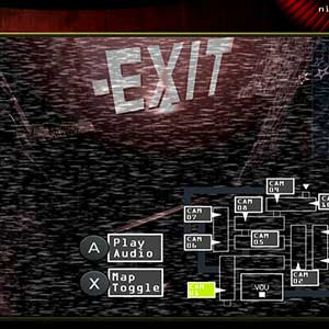 Five Nights at Freddys 3 - Camera view