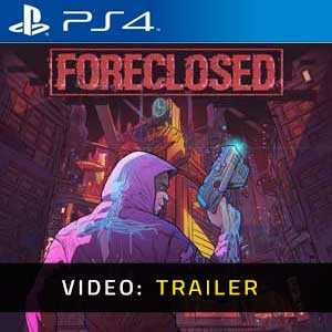 FORECLOSED PS4 Video Trailer