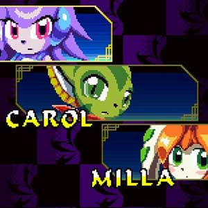 Freedom Planet Character Select
