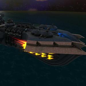 From The Depths battleship