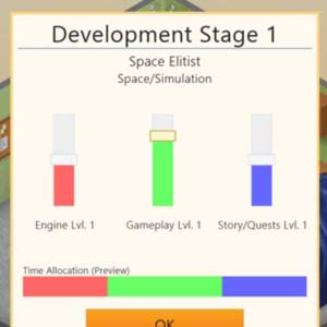 Game Dev Tycoon - Development Stage