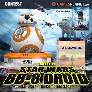 Star Wars BB-8 Droid Contest Gamesplanet.com