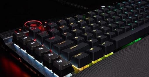 Corsair K100 RGB mechanical keyboard