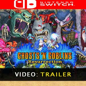 Ghosts n Goblins Resurrection Nintendo Switch Video Trailer