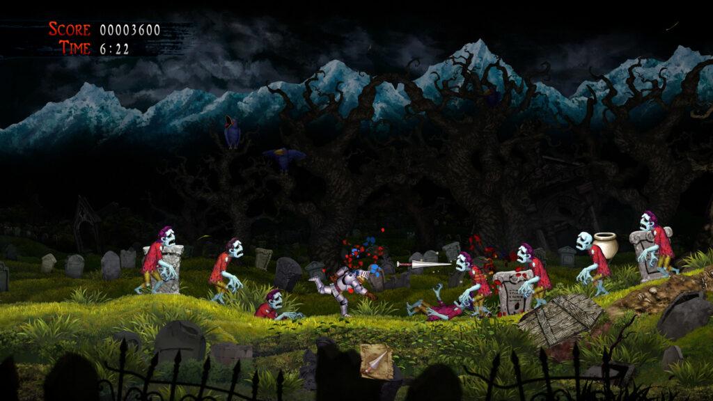 Ghosts n Goblins Resurrection Enemies