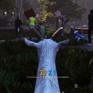 Goat Simulator - Chasing People