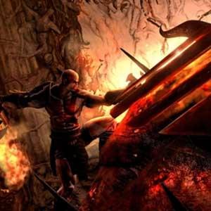 God of War 3 Remastered PS4 Battle