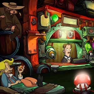 Goodbye Deponia Characters