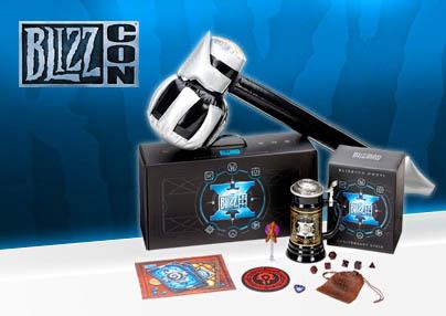 Blizzcon 2016 goodie box