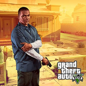 GTA 5 PS4 - Franklin