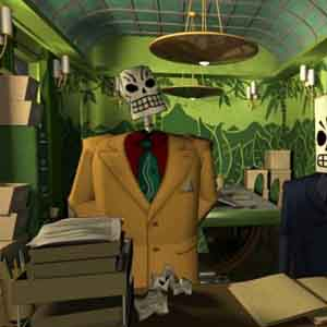 Grim Fandango Remastered Screenshot - Department of Death Office