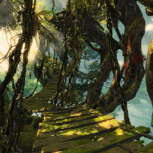 Guild Wars 2 Heart of Thorns - Location