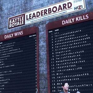 H1Z1 King of the Kill - LeaderBoard