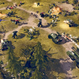 Halo Wars 2 Xbox one Game Map