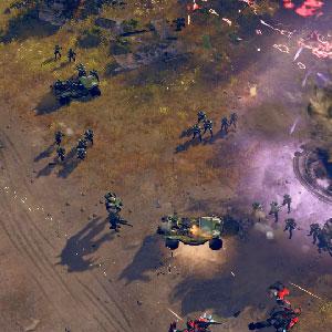 Halo Wars 2 Xbox one Enemy under attack