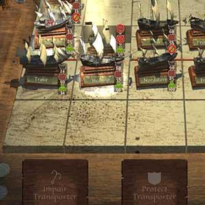 Fight enemy ship convoys