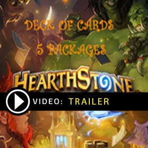 Hearthstone Deck Of Cards Pack 5 Gamecard Code Price Comparison