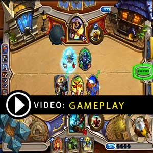 Hearthstone Heroes of Warcraft Deck of Cards 10 Packages Gameplay Video