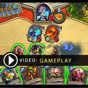 Hearthstone Heroes of Warcraft Deck of Cards Gameplay Video