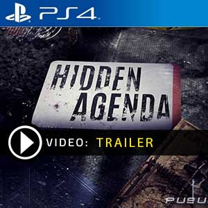 Hidden Agenda PS4 Prices Digital or Box Edition