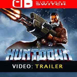 Huntdown Nintendo Switch Video Trailer