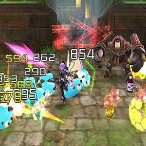 Hyperdimension Neptunia U Action Unleashed - Fight
