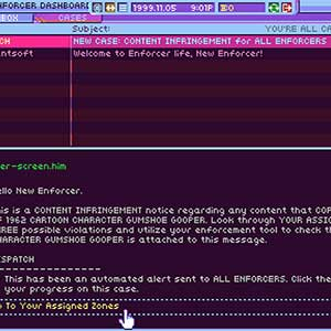 Hypnospace Outlaw Cases