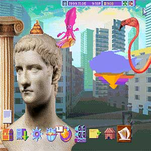 Hypnospace Outlaw Game Interface