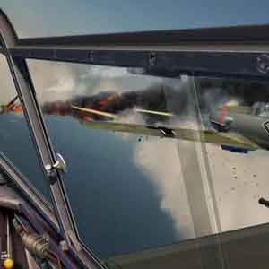 IL 2 Sturmovik Battle of Stalingrad - Fighter Jet Going Down!