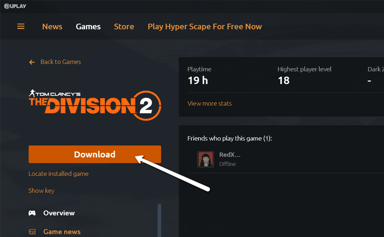 Uplay Add Game