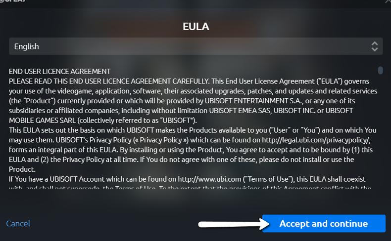 Uplay Eula