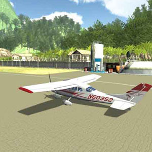 Island Flight Simulator - An N60352