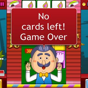 Janken Cards Gameover