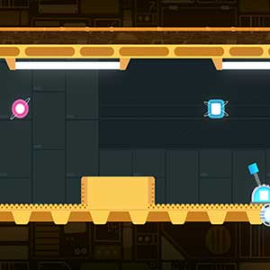 Arcade autorunner-style action platforming