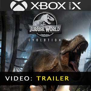 Jurassic World Evolution Xbox Series X Trailer Video