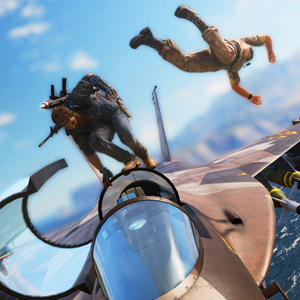 Just Cause 3 PS4 - Plane Ride