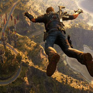 Just Cause 3 PS4 - Freefall