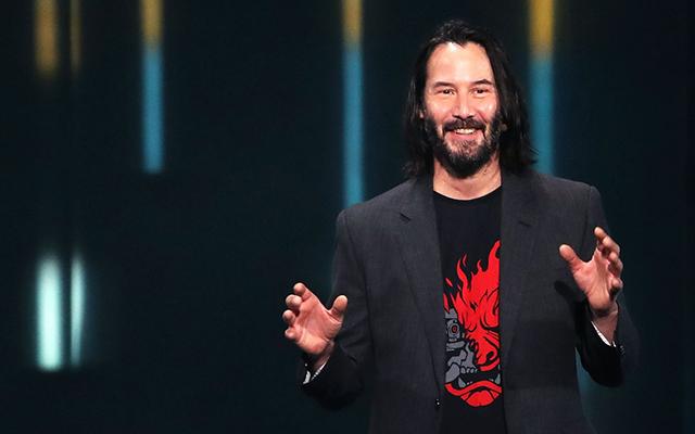 Cyberpunk 2077 Keanu Reeves E3 2019