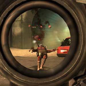 Shooting enemies