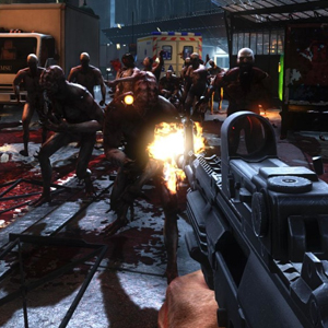 Killing Floor 2 - Shooting Enemies