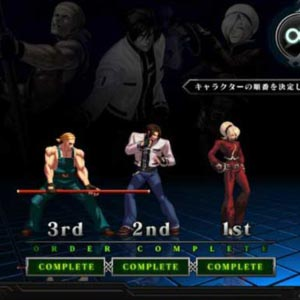 King of Fighters 13 Character Select