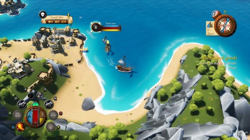 King of Seas Map