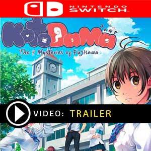 Kotodama The 7 Mysteries of Fujisawa Nintendo Switch Prices Digital or Box Edition
