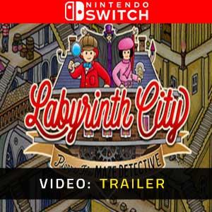 Labyrinth City Pierre the Maze Detective Nintendo Switch Video Trailer