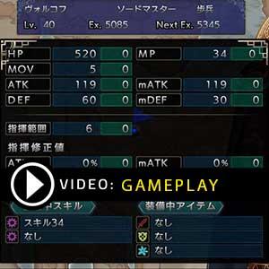 LANGRISSER 1 & 2 Nintendo Switch Gameplay Video