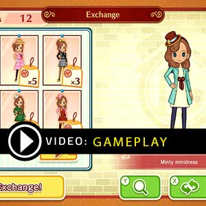 Layton's Mystery Journey Katrielle and the Millionaires' Conspiracy Gameplay Video