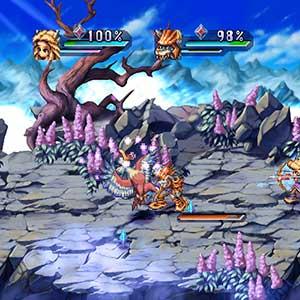 Legend of Mana Combat