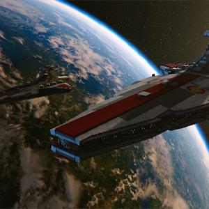LEGO Star Wars The Skywalker Saga - Republic attack cruiser