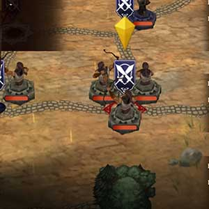 classic turn-based combat and tactics