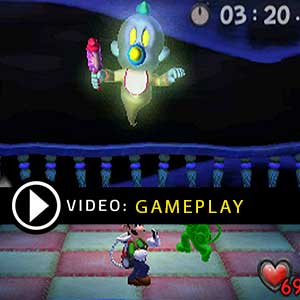 Luigi's Mansion Nintendo 3DS Gameplay Video